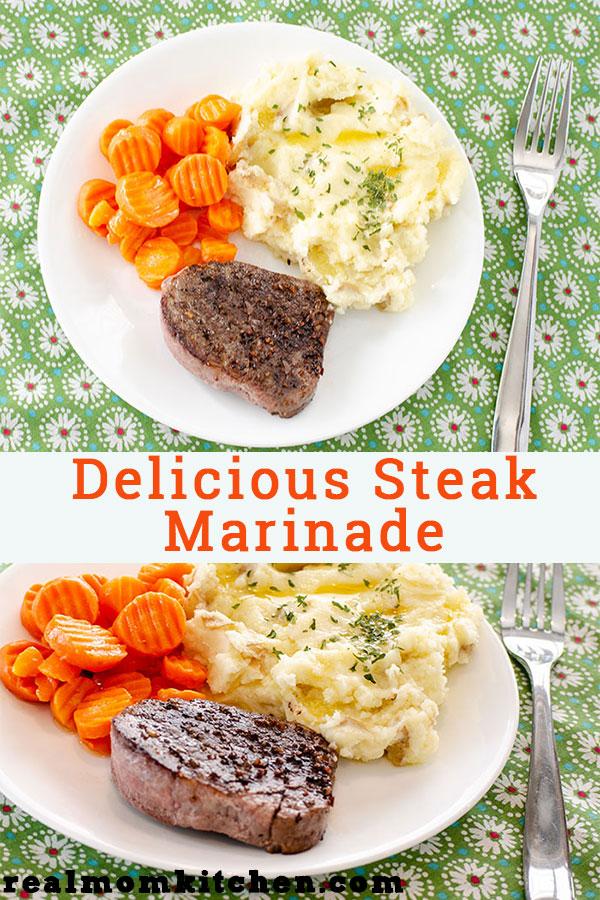Delicious Steak Marinade | realmomkitchen.com
