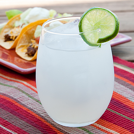 Easy Lime Punch via Real Mom Kitchen
