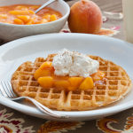 Fresh Peach Topping | realmomkitchen.com
