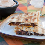 Grilled Black Bean and Cheese Quesadillas | realmomkitchen.com
