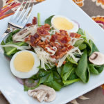 Spinach Salad   realmomkitchen.com