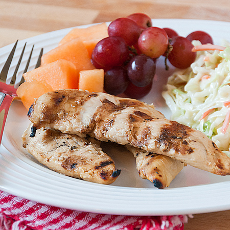 Honey Lime Grilled Chicken via Real Mom Kitchen