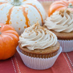 Pumpkin Cupcakes with Biscoff Buttercream | realmomkitchen.com