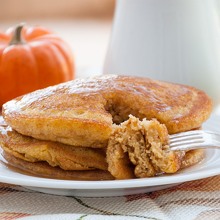 Flashback Friday – Pumpkin Patch Pancakes with Apple Cider Syrup