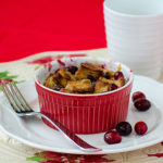 Cranberry Bread Pudding | realmomkitchen.com