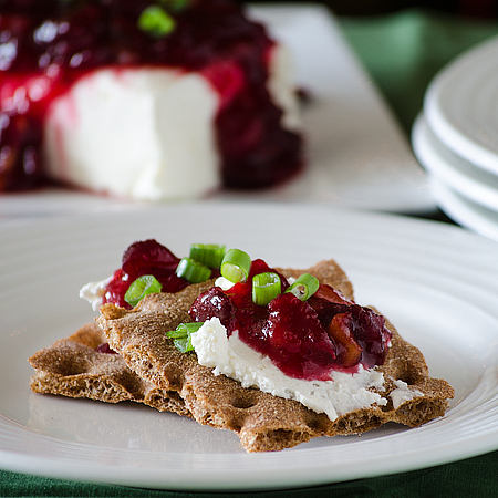 Cranberry-Chili Cheese Spread