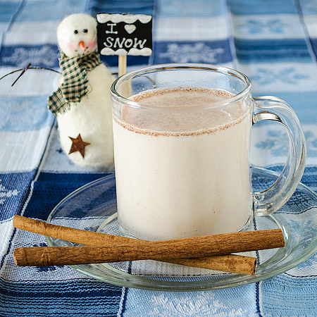Hot Cinnamon Milk Mix {aka Snowman Milk}