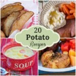 20 potato recipes collage