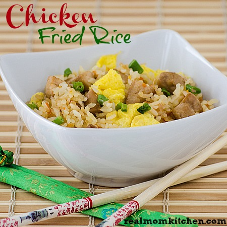 Chicken Fried Rice | realmomkitchen.com