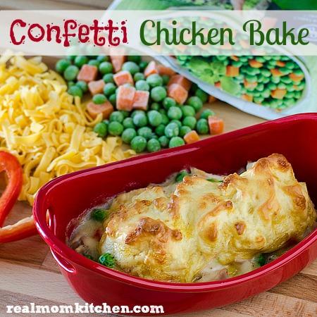 Confetti Chicken Bake   realmomkitchen.com