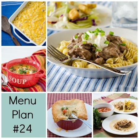 RMK Menu Plan Monday week 24 | realmomkitchen.com