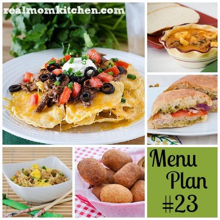 rmk menu plan week 23 labeled