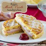 Eggo Waffle Monte Cristo Sandwiches | realmomkitchen.com