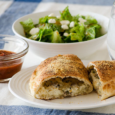 Fast and Easy Calzones | realmomkitchen.com