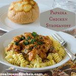 Paprika Chicken Stroganoff   realmomkitchen.com
