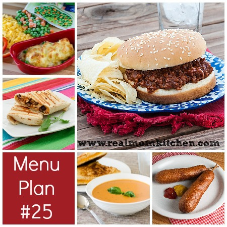 RMK Menu Plan Week 25 | realmomkitchen.com