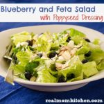 Blueberry & Feta Salad | realmomkitchen.com