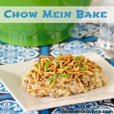 Chow Mein Bake Real Mom Kitchen