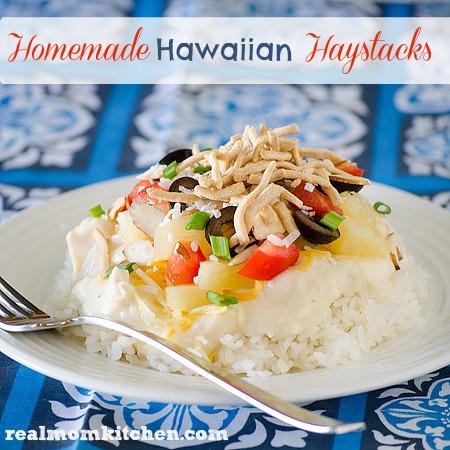 Homemade Hawaiian Haystacks   realmomkitchen.com