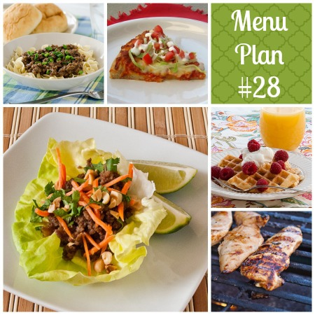 RMK Menu plan week 28 |realmomkitchen.com
