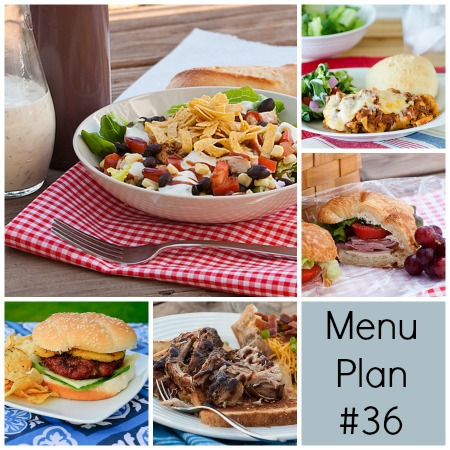 rmk menu plan week 36