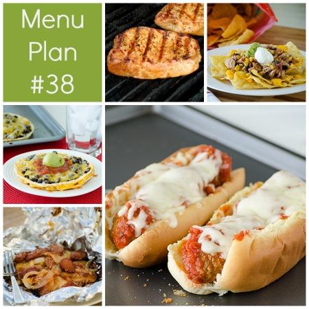rmk menu plan week 38
