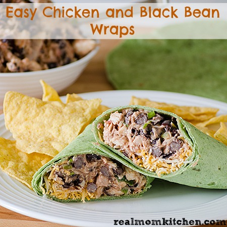 ... black beans wraps ingredients 1 15 oz can bush s black beans drained 2