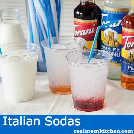 Italian Sodas | realmomkitchen.com