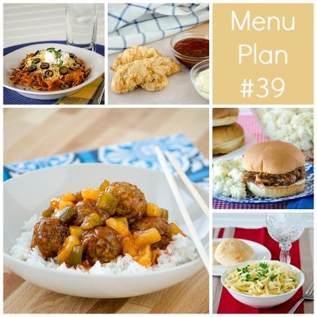 rmk menu plan week 39
