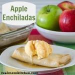 Apple Enchiladas | realmomkitchen.com