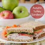 Autumn Turkey Sandwich l realmomkitchen.com