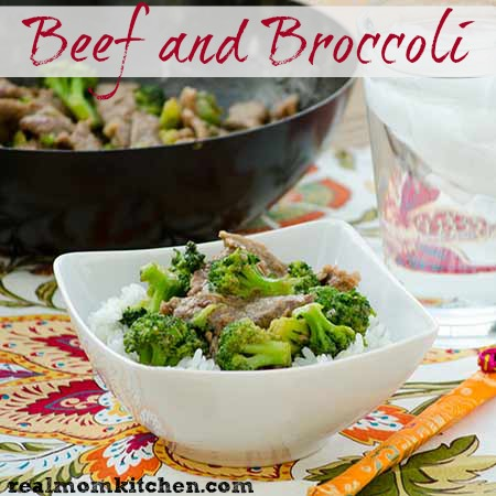 Beef and Broccoli | realmomkitchen.com