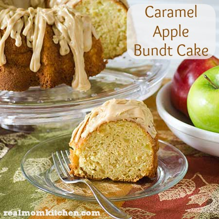 Caramel Apple Bundt Cake | realmomkitchen.com