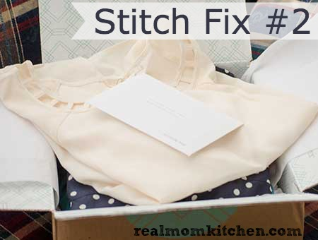Stitch Fix 2 Package labeled