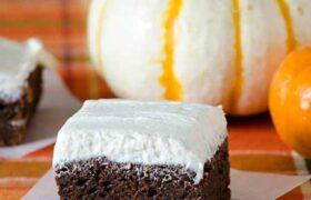 3 Ingredient Pumpkin Brownies | realmomkitchen.com