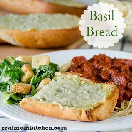 Basil Bread | realmomkitchen.com