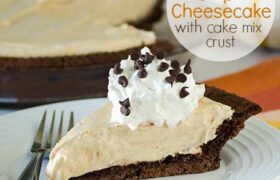 No Bake Pumkin Cheesecake | realmomkitchen.com