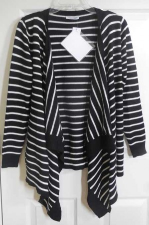 Stitch Fix 3 stripped cardigan | realmomkitchen.com