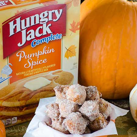 Pumpkin Spice Pancake Poppers - Box