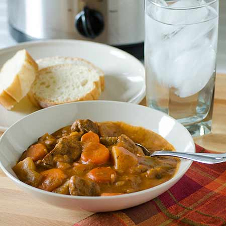 5 Ingredient Slow Cooker Stew