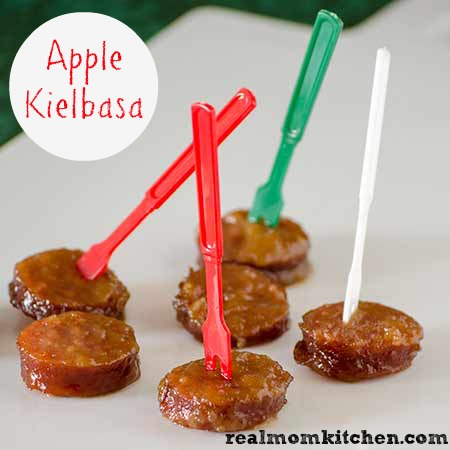 Apple Kielbasa | realmomkitchen.com