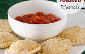 Oven Toasted Ravioli | realmomkitchen.com