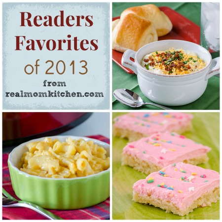 readers favorites 2013 - realmomkitchen.com