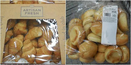 sam's club bakery rolls