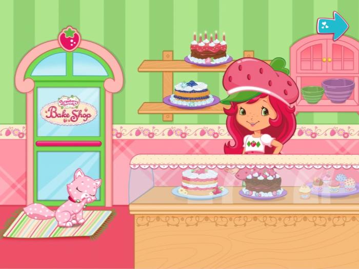 Strawberry Shortcake Bake Shop App