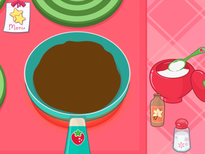 strawberry brownie pan