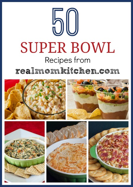 50 super bowl recipes