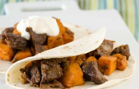 Beef and Sweet Potato Hash | realmomkitchen.com