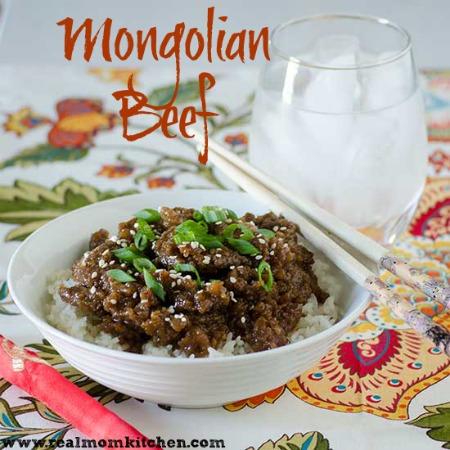 Mongolian Beef | realmomkitchen.com