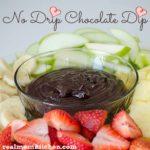 No Drip Chocolate Dip | realmomkitchen.com